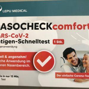 LEPU MEDICAL NASOCHECK Comfort - SARS-CoV-2 Antigen Schnelltest