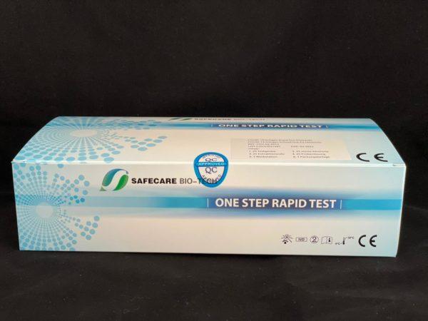SAFECARE One Step Rapid Test COVID-19 Antigen-Schnelltestkit